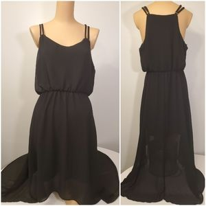 Forever 21 Black High-Low Dress